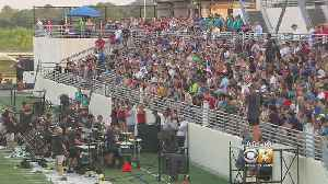 Band Competitors Cope With Oppressive North Texas Heat [Video]