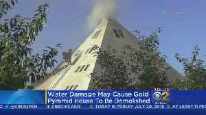 Pyramid House Owners To Rebuild [Video]