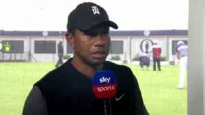 Woods: Tough conditions [Video]