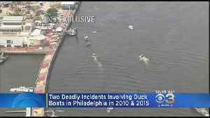 Pilot Recalls Frightening Moment Duck Boat Crashed On The Delaware River In 2010 [Video]
