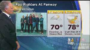 WBZ Midday Forecast For July 20 [Video]