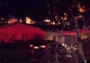 Neighbor Captures Flames Rising From San Marcos Apartment Fire [Video]
