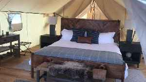 How You Can Go Glamping On Old Military Base In New York City [Video]