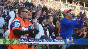 Forbes: Broncos Are 23rd Most Valuable Sports Franchise In World [Video]