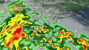 Weather Update: Storms Coming Through The Area This Weekend; Possible Flooding [Video]