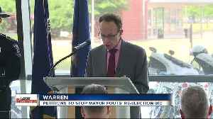 Effort to repeal Warren Mayor term limit extension under way with petition drive [Video]