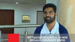 My Target Is Always To Win Medals  Gurpreet Singh [Video]