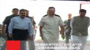 BJP Wins No-Trust Vote After 12-Hour Marathon Debate [Video]