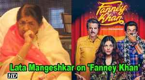 Lata Mangeshkar REACTS to the tribute in 'Fanney Khan' [Video]
