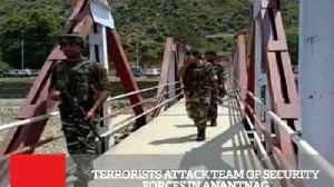 Terrorists Attack Team Of Security Forces In Anantnag [Video]