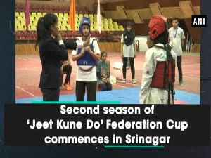 Second season of 'Jeet Kune Do' Federation Cup commences in Srinagar [Video]