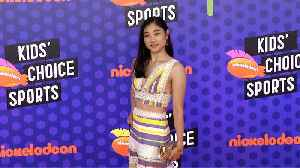 Mirai Nagasu 2018 Kids' Choice Sports Awards Orange Carpet [Video]