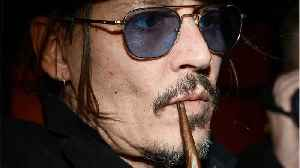 Johnny Depp Makes Surprise Appearance At Comic-Con [Video]