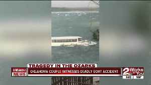 Oklahoma couple witnesses deadly boat accident [Video]