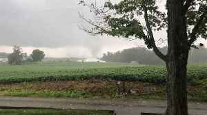 Confirmed Tornado Damages Homes in New Middletown [Video]