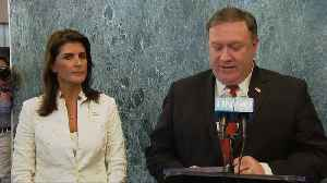 U.N. united on denuclearization of NK: Pompeo [Video]