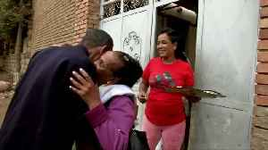 Ethiopian journalist reunites with wife and children after almost 20 years of separation [Video]