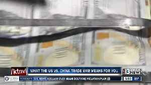 Local financial expert talks about the impact of recent tariffs [Video]