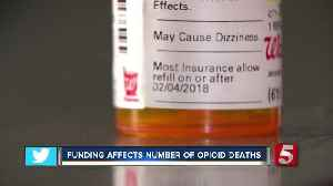Lack Of Funding, Training Affecting State Drug Overdose Death Numbers [Video]
