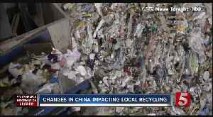 Local Recycling Impacted By Changes in China [Video]