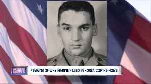 Remains of WNY Marine killed in Korea coming home [Video]