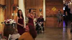 Maids of honor sing Justin Bieber parody toast [Video]