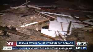 Storms damage roofs, vehicles in Henderson [Video]