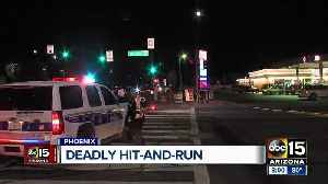 Police searching for driver in deadly pedestrian crash [Video]