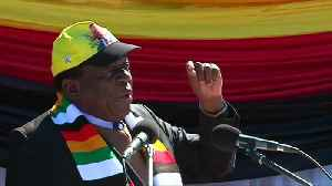 Zimbabwe's President courts white voters ahead of election [Video]
