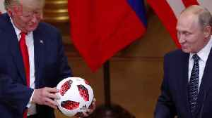 Putin's Soccer Ball Gift To Trump Undergoing Security Screening: Report [Video]