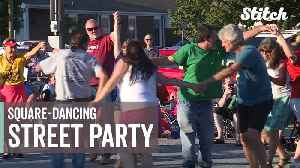 This North Carolina city has the best square-dancing street party [Video]
