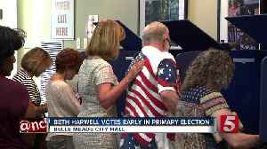 Beth Harwell Casts Ballot In Primary Election [Video]
