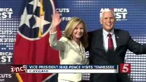 Vice President Pence Makes A Stop In Tennessee [Video]