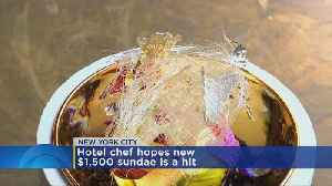 Would you pay $1,500 for an ice cream sundae? [Video]