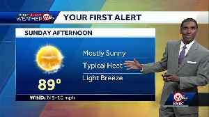 First Alert: Plenty of sunshine for your Sunday [Video]