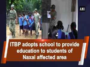 ITBP adopts school to provide education to students of Naxal affected area [Video]