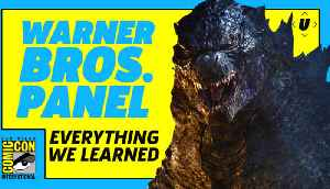 Everything We Learned At The Warner Bros. Panel At SDCC 2018 [Video]
