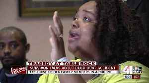 Tia Coleman, mother who lost nine family members on Table Rock Lake duck boat, speaks [Video]