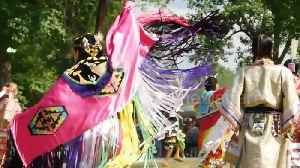 Canada's indigenous peoples dance in sacred regalia at 28th annual powwow [Video]