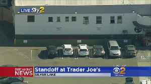 Shooting Suspect Barricaded Inside Trader Joe's, Possibly With Hostages [Video]