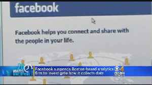 Facebook Suspends Boston-Based Analytics Firm Over Data Usage
