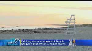 Mass. Officials Say E-Coli Found In Drinking Water At Westport Beach [Video]