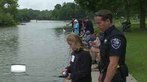Appleton Police Department holds fishing event [Video]