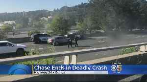 Highway 24 Closed For Hours After Pursuit Ends In Fatal Crash [Video]