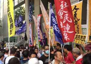 Hundreds Rally Against Attempt to Ban Hong Kong Political Party [Video]