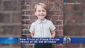 Windsor Palace Releases New Photo Of Prince George Ahead Of 5th Birthday [Video]