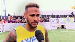 Neymar gives PSG fans a boost, says he wants to win Champions League [Video]