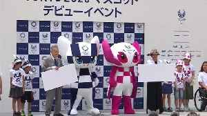 Tokyo unveils Miraitowa and Someity as 2020 mascots [Video]