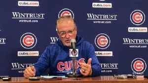 Joe Maddon, Kyle Schwarber, Jose Quintana, Anthony Rizzo on Cubs' win over Cardinals