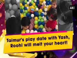 Taimur's play date with Yash, Roohi will melt your heart! [Video]